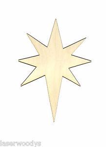 Christmas-Star-Unfinished-Wood-Shape-Cut-Out-CS8067-Lindahl-Woodcrafts