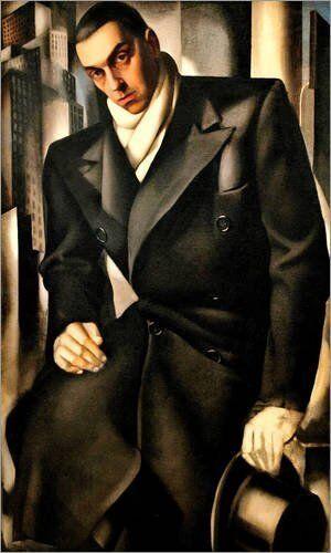 Quadro su legno pannello in legno su MDF Tamara Portrait Of A Femme 76f319