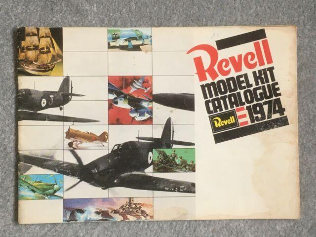 1974 Revel Plastic Model Kit Catalogue; UK - Motorcycles, Planes, Cars, ships