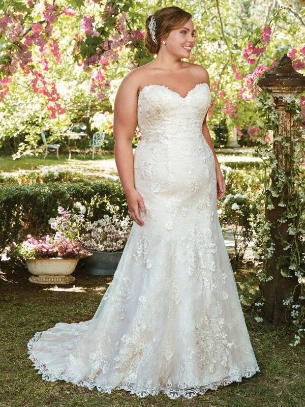 Plus Size Wedding Dresses Collection - Designer Gowns ( USA) Rebecca Ingram  by Maggie Sottero | Edgemead | Gumtree Classifieds South Africa | ...