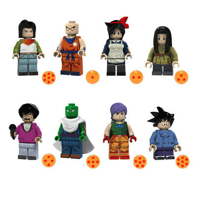 8pcs/set Cartoon Girls Boys Figures With Ball Building Blocks Models Bricks Toys 2019 New Fashion Style Online Bauklötze