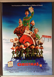 Arthur Christmas Poster.Details About Cinema Poster Arthur Christmas 2011 Main One Sheet James Mcavoy Jim Broadbent