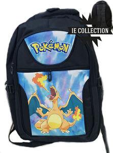 prezzo più basso 0fe6b 01358 POKEMON ZAINO CHARIZARD SCUOLA Dracaufeu charmender sac bag ...