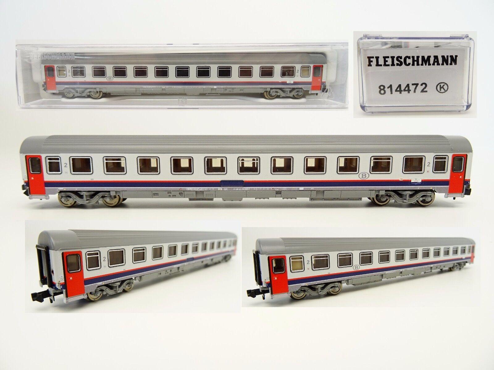 Fleischmann N 814472 Eurofima Eurofima Eurofima Personenwagen 2. Klasse SNCB Ep.V  OVP  | Verkaufspreis  18144e