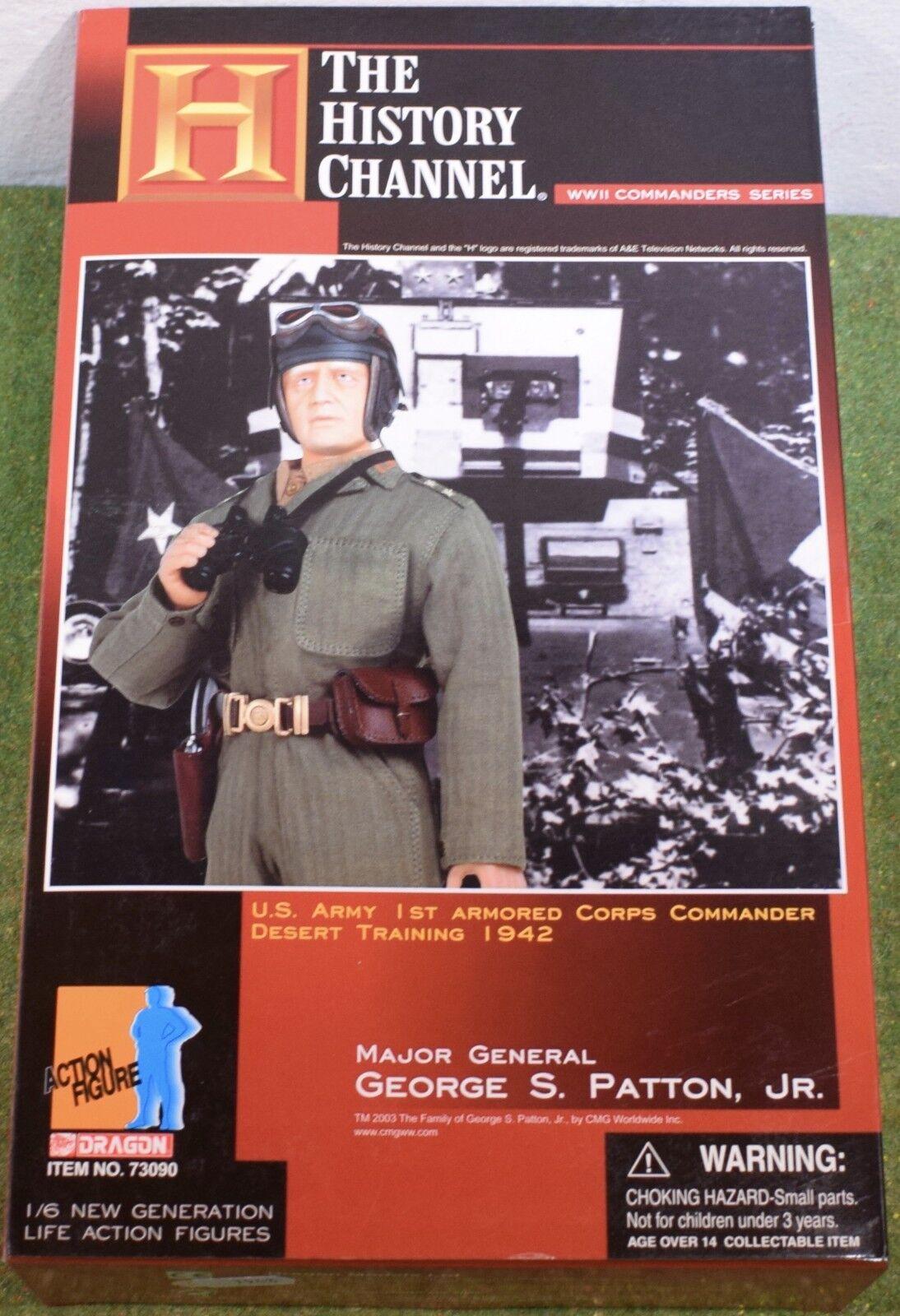 Dragon 1/6 SCALA WW II US George S. Patton JR-IL GENERALE 73090