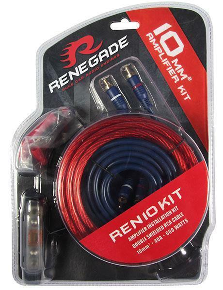 RENEGADE REN10 Kabelset Kabel SET für Verstärker 10mm² TOP