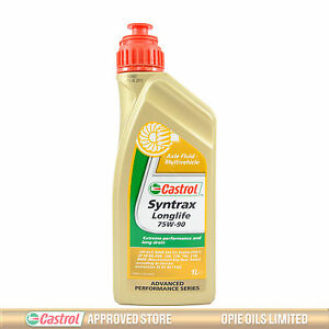 castrol syntrax longlife 75w 90 multivehicle axle fluid 75w90 1 litre 1l ebay. Black Bedroom Furniture Sets. Home Design Ideas