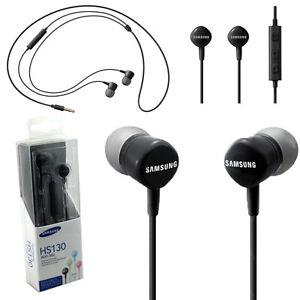Cuffie-microfono-originali-SAMSUNG-HS130-NERE-per-LG-Magna-H502F-H500F-volume