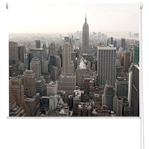 RB34 - NEW YORK CITY SKYLINE EMPIRE STATE VIEW PRINTED PHOTO ROLLER BLIND