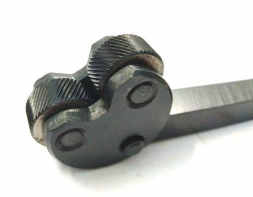 Pivot Head Knurling Tool Brand New 2 Knurls For Lathe Tool Holder@new