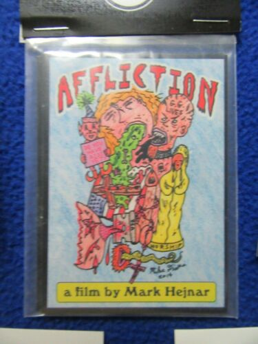 RARE! AFFLICTION SN'D CARD SET #85100 ART BY MIKE DIANA!