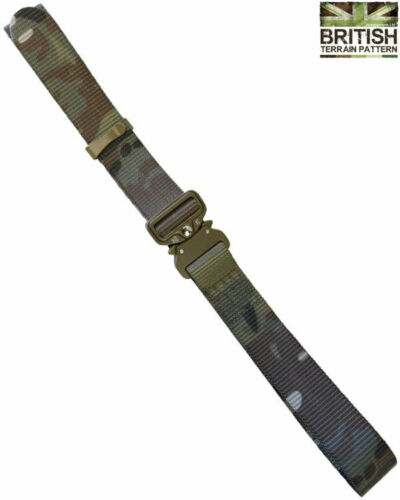 """Kombat UK Army Military Combat Recon Belt Tactical Belt One Handed Quick 28-46/"""""""