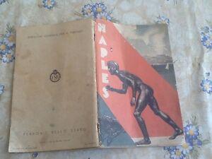 CARTA-TURISTICA-DELLE-FERROVIE-DELLO-STATO-IT-034-NAPLES-034-DEL-1936-FRANCESE-ENIT