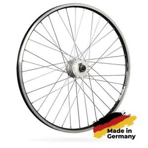 26x1.75 Front Wheel Steel hub Silver screw on 26 inch with tyre and inner tube