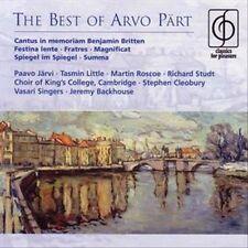 BEST OF ARVO PART (NEW CD)
