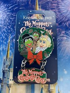 2019 Disney Parks Pin The Muppet Christmas Carol Kermit Miss Piggy LE 5000 | eBay