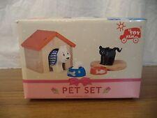 LE TOY VAN WOODEN DOG & CAT PET POST W/WIDE