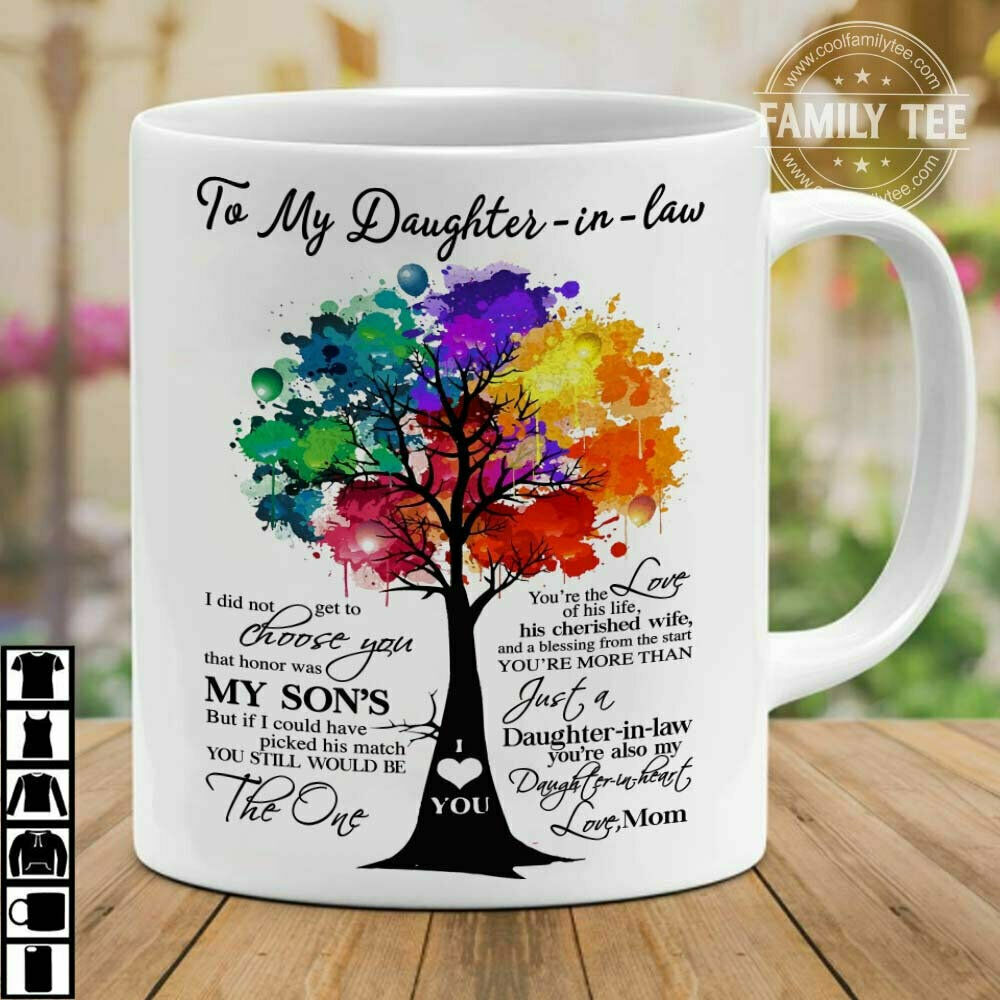 Mothers Day Gifts For Mother In Law Birthday Gifts White Funny Mother In Law Coffee Mug Christmas Gift Ideas For Mother In Law Mother In Law Gifts From Daughter In Law 11oz Dining