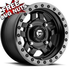 One Fuel Anza D557 18x9 5x150 ET1 Matte Black Wheel