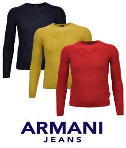 73f15d864eac Das Bild wird geladen ARMANI-JEANS-Pullover-Pulli-WOLLE-6Y6MD1-6MFKZ-Gr-
