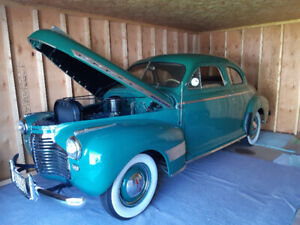 1941 Chev Master Deluxe 2 Dr Coupe for Sale