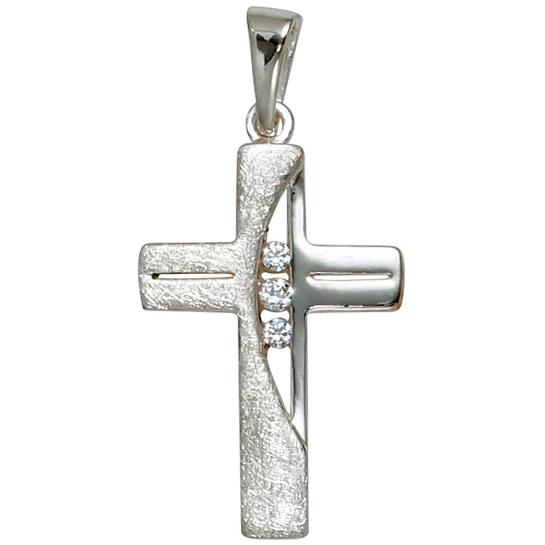 Set Set Set gioielli a croce con zirconi 2mm carri armati catena da 925 argentoo Gioielli Collo 60cm 2d6616