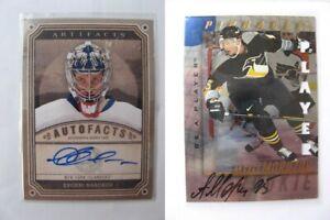 1997-98-BaP-Signature-Series-212-Morozov-Alexei-autograph-penguins-SILVER