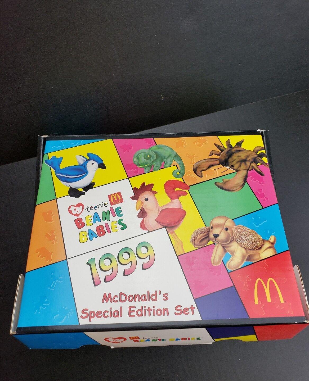 Mcdonald 's teenie beanie babys 1999 special edition wurde selten