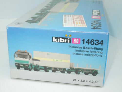 Kibri H0 14634 MB LKW Container Circus Neu