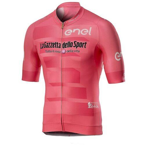 2019 Pro teamTour de Italia Men Summer Short Sleeve Cycling Jerseys Bycicle