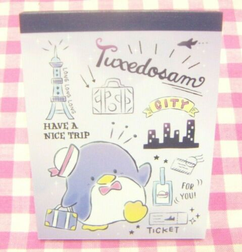 Made in Japan 2020 Sanrio Tuxedosam Travel Mini Memo Pad