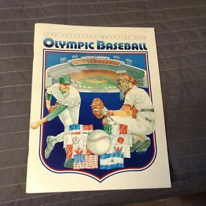 1984-Scorecard-Magazine-Olympic-Baseball-Legends-1991-Collector-issue