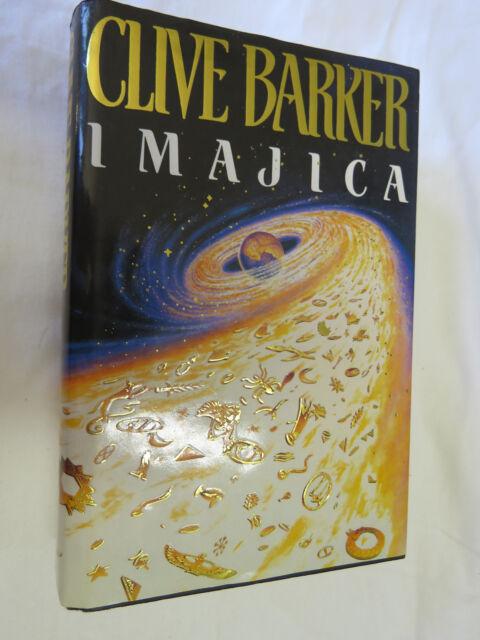 05 Imajica Book (Clive Barker - 1991) HARDCOVER VGC