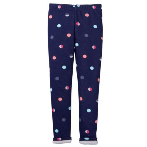 NWT Gymboree Warm and Fuzzy Night Navy Dot Leggings Ice Dancer 2T,S,M,L,XL