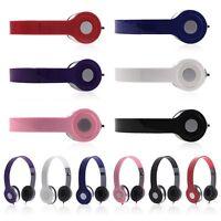 3.5mm Headphone Earphone Earbud Headset Stereo for iPod iphone MP3/4 PC PDA