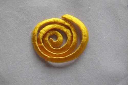 #2771 Green,Black,Gold,Purple Sun,Flower Trim Fringe Embroidery Applique Patch