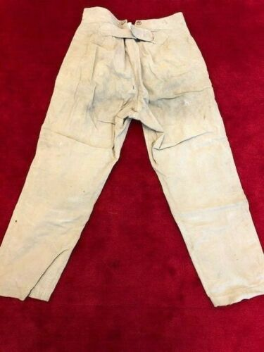 Vintage Buckle back french trousers