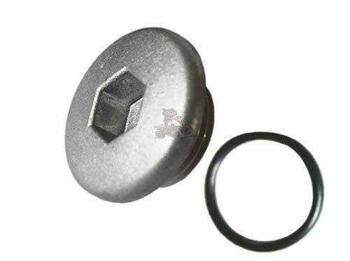 Genuine Yamaha Top Crankcase Oil Filler Plug /& O-Ring for YFM 700 Raptor Quad