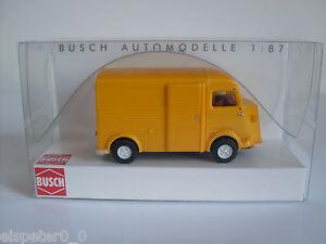 Busch-41913-Citroen-H-034-Orange-034-h0-auto-modello-1-87-novita-2014