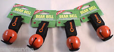 4 PK BEAR BELL RED-INCLUDES SILENCER REPELS MANY UNWANTED PREDITORS KEEP SAFE