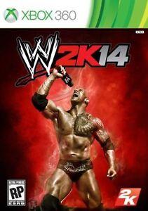WWE 2K14 - Xbox 360 Game 710425493119