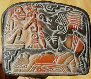 Remembrance of Fiestas past - : Columns  |Maya Sacrifice Stamp
