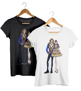 Disney Princess Belle The Beast Matching Couples T Shirt Adults Fashion Tshirt Ebay