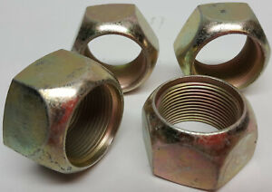 4 pack left hand inner or outer lug nuts Rockwell military M series rear axles
