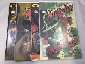 Frankenstein-Mobster-0-3-Image-Comics-2003-Mark-Wheatley-VF-4-Issue-Lot