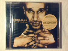 GOLDIE Goldie.co.uk - A drum & bass dj mix 2cd ED RUSH OPTICAL SIGILLATO SEALED
