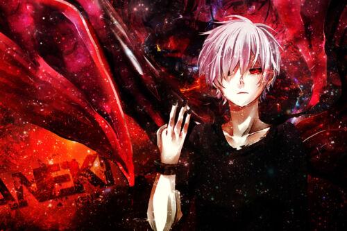 "Tokyo Ghoul Kaneki Anime 24/"" x 16/"" Large Wall Poster Art Print Gift Decor #2"