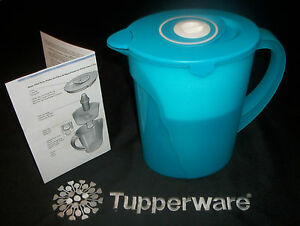 Image Is Loading Tupperware Aqua Gallon Impressions Eco Water Filter Pitcher