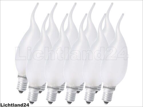 25 W Ampoule E14-10 x ALMO RC 25 W Rafale Bougie-Matt