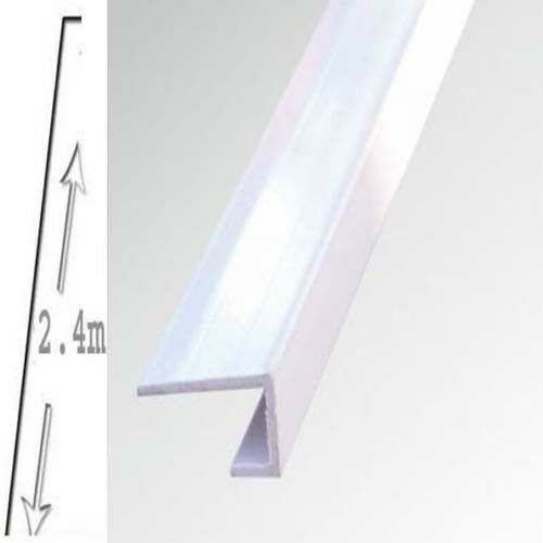 1 X Shower Wall Panels White End Trim  10mm X 2400 long WET WALL